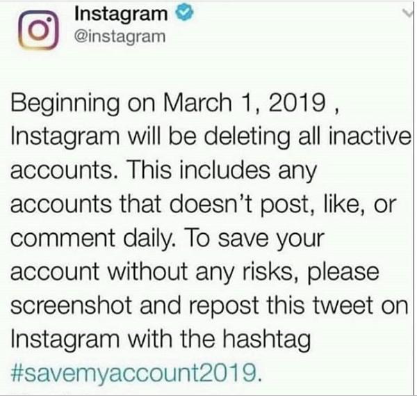 pérdida de seguidores en Instagram